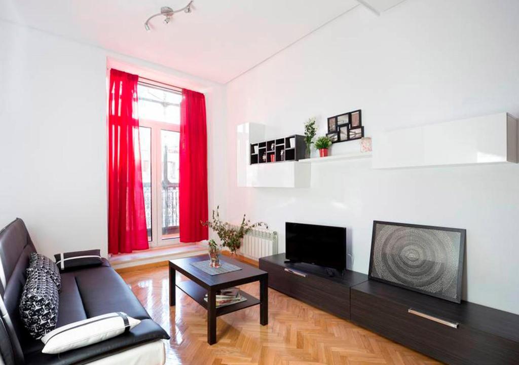 Seating area sa Apartamento exterior en Calle Montera con Gran Vía