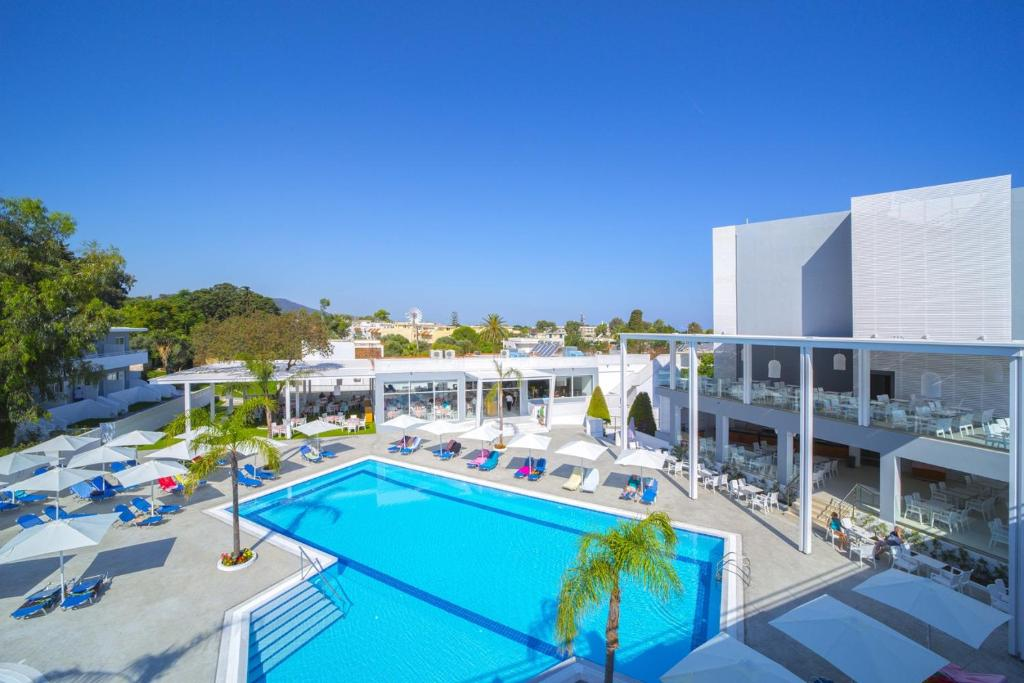 A view of the pool at Oceanis Park Hotel or nearby