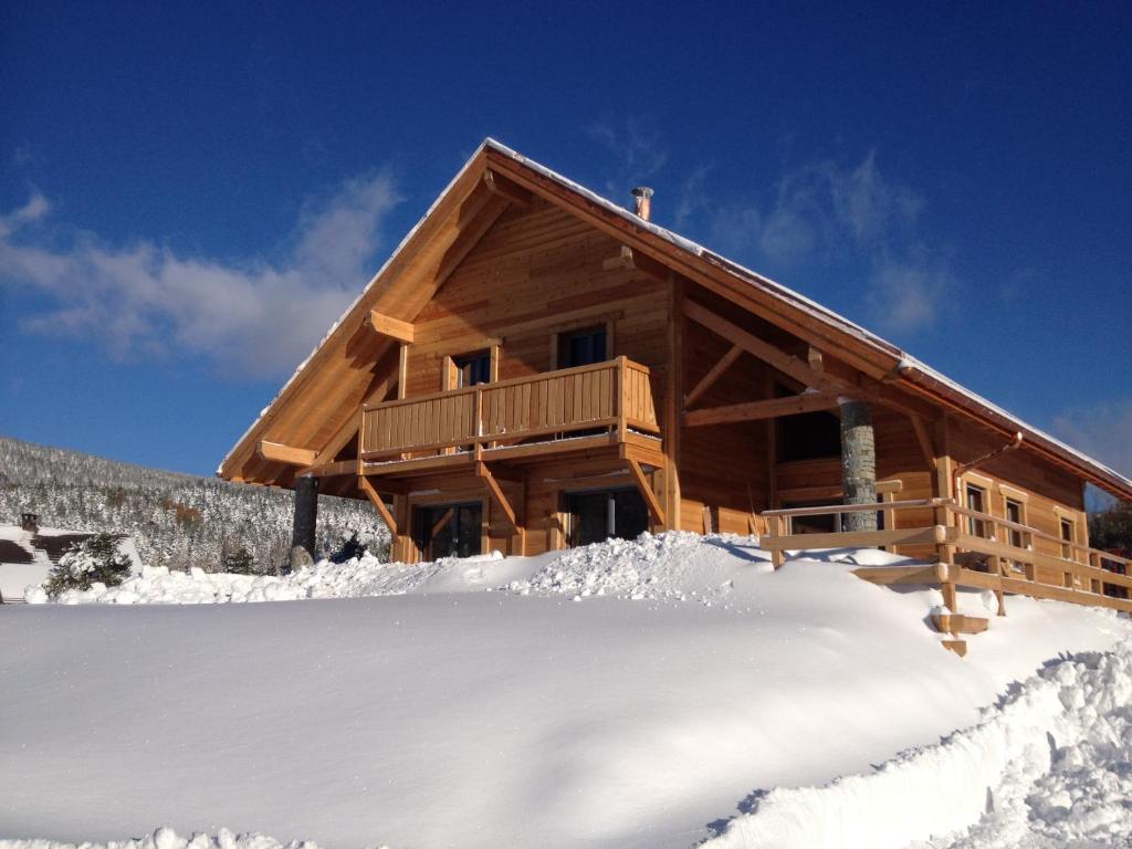 Au cœur du bois during the winter