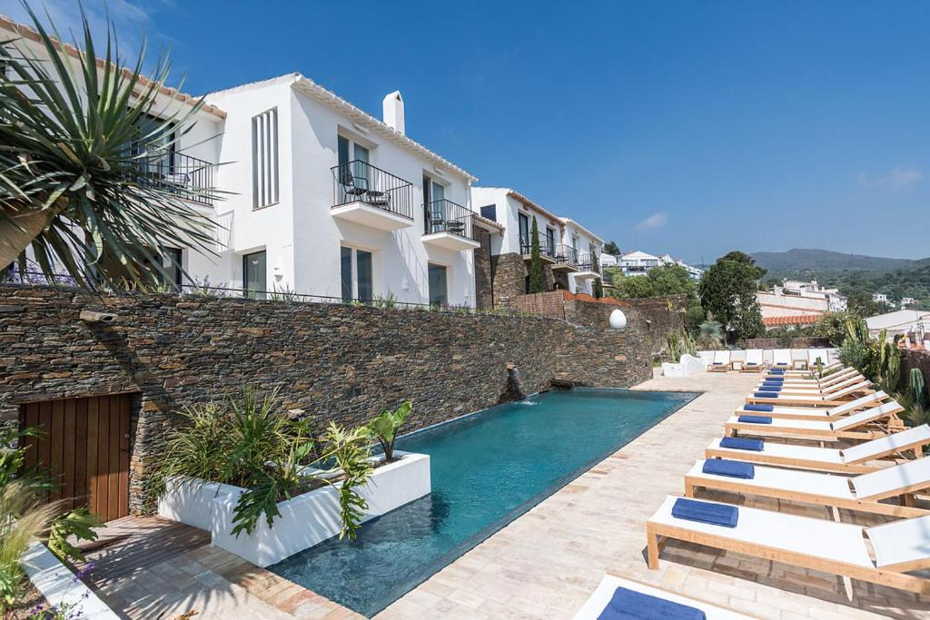 The swimming pool at or near Boutique Hotel Villa Gala