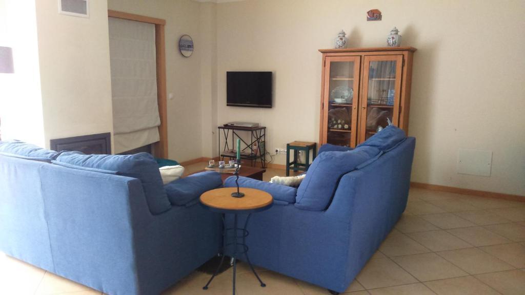 Część wypoczynkowa w obiekcie Casa da Floresta