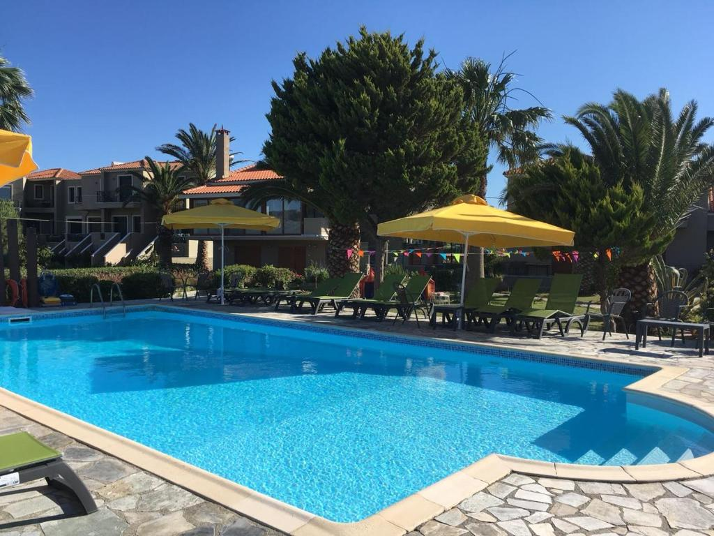 The swimming pool at or near Ariadnes Holiday Accommodation I