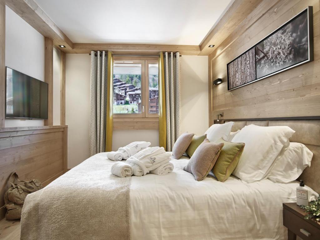 Een bed of bedden in een kamer bij Residence Anitea