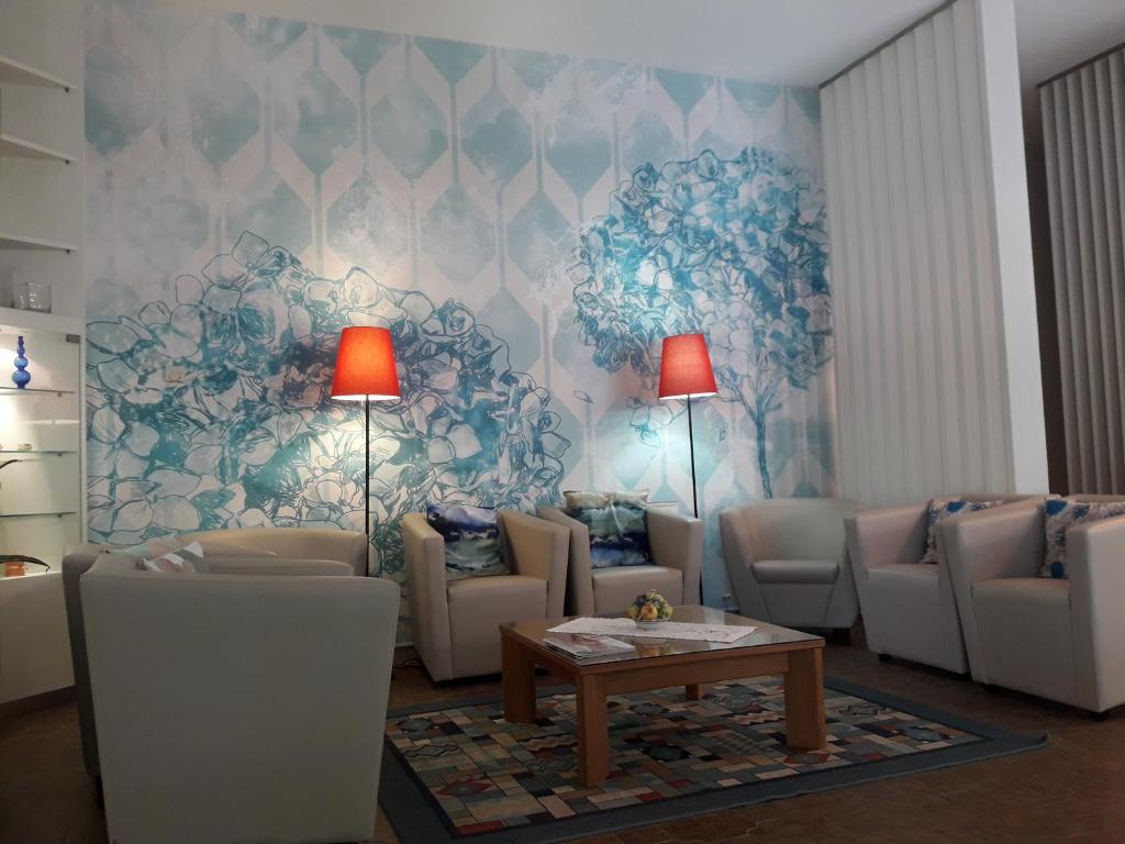 Area soggiorno di Hotel Parco Dei Pini
