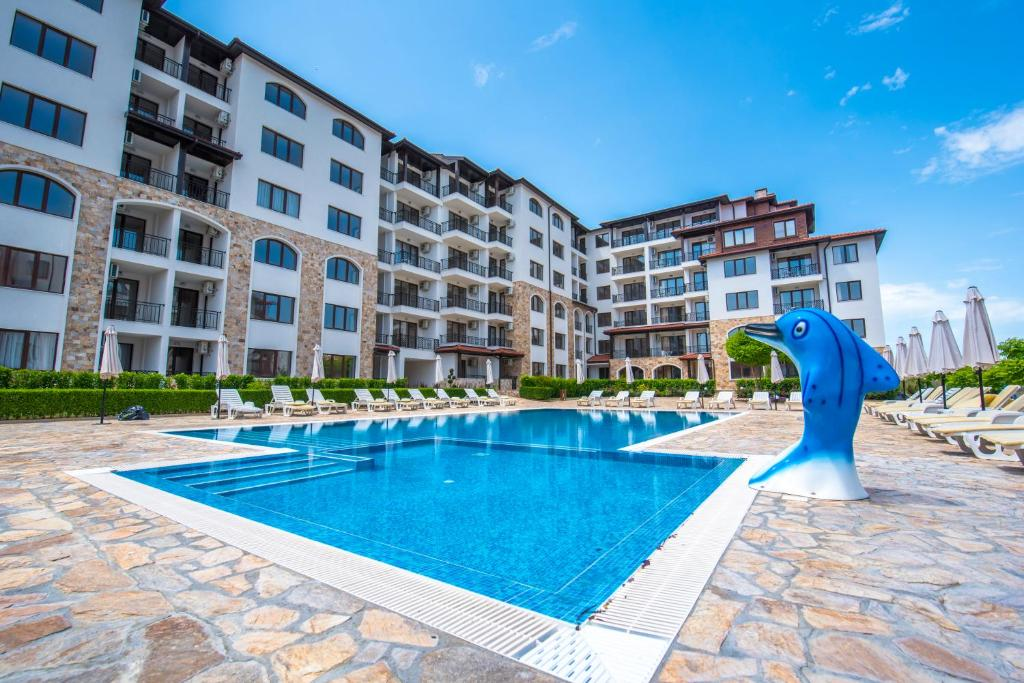 The swimming pool at or near Apollon Apartments