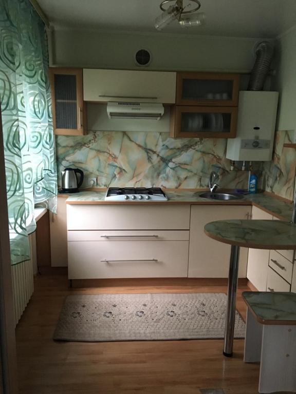 Dapur atau dapur kecil di Appartamenty 2