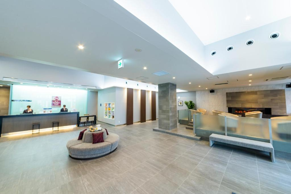 The lobby or reception area at Best Western Plus Hotel Fino Chitose