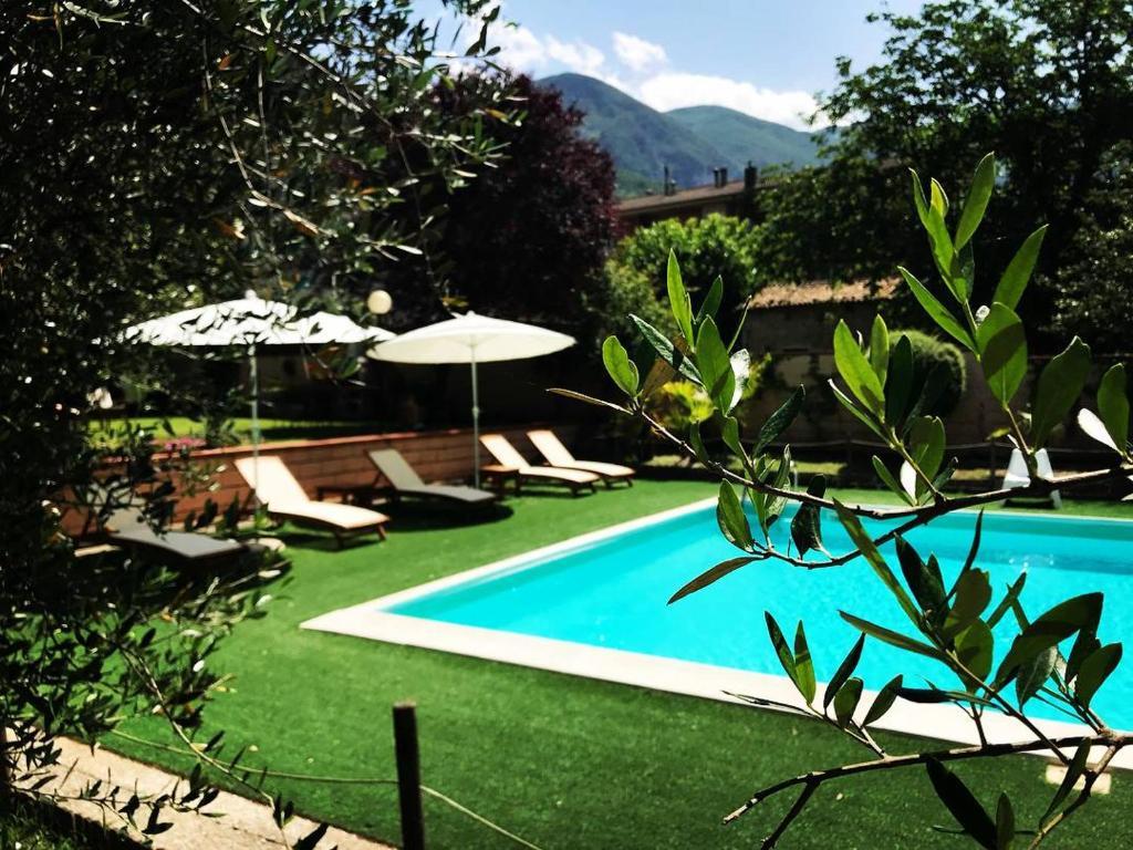 The swimming pool at or near Hotel Borgo Antico