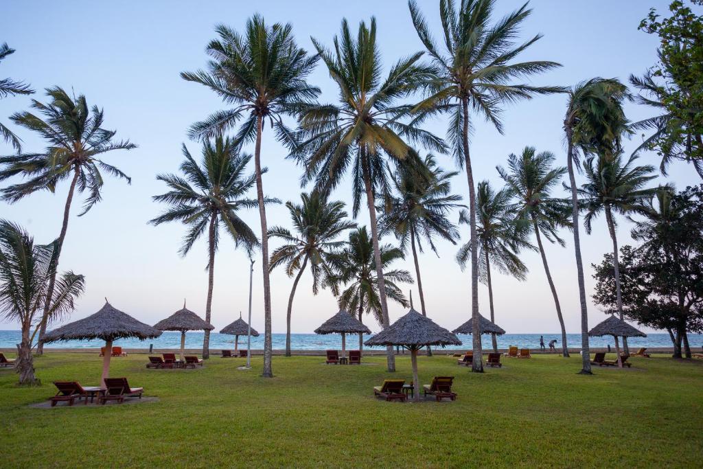 A garden outside Neptune Paradise Beach Resort & Spa - All Inclusive