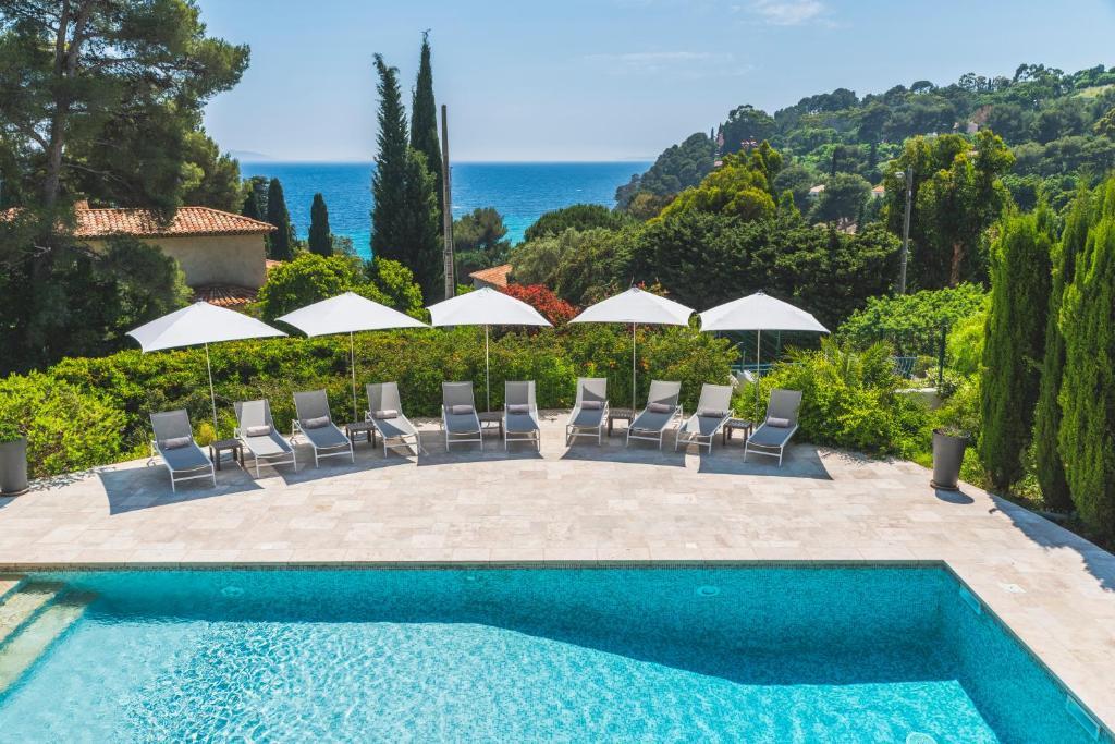 Hotel Les Terrasses Du Bailli Rayol Canadel Sur Mer France