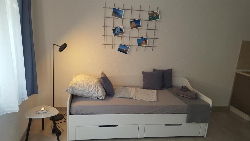 Zona de estar de Apartmani Lavanda