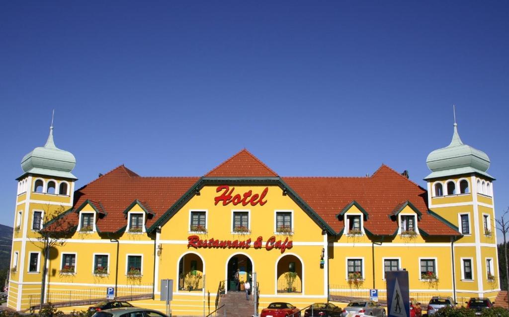 Das Gebäude in dem sich das Motel befindet