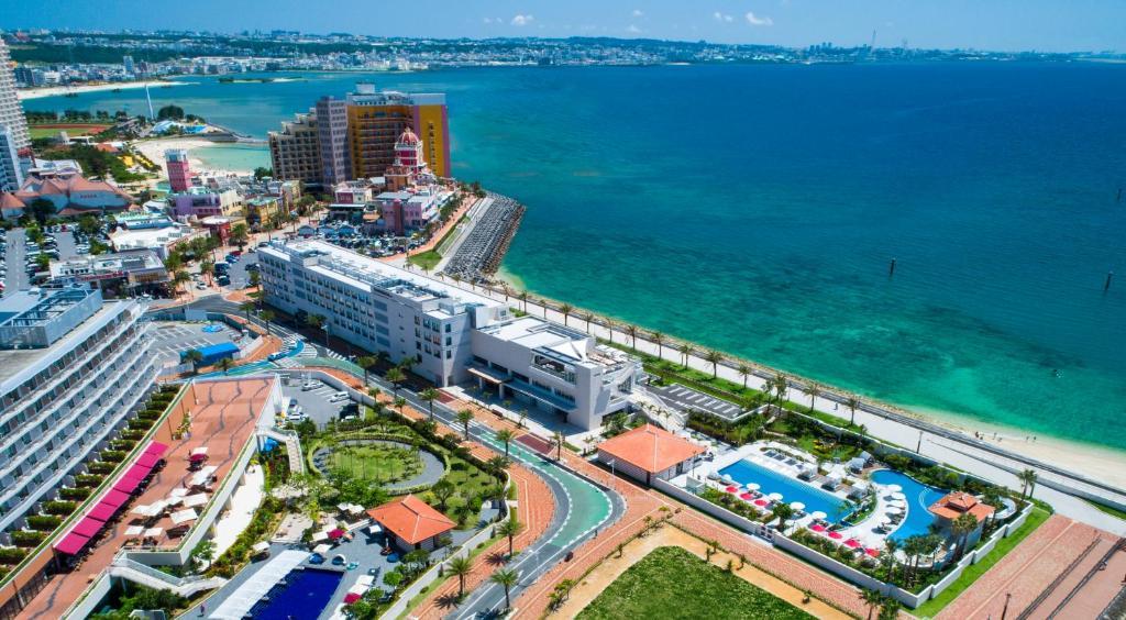 A bird's-eye view of DoubleTree by Hilton Okinawa Chatan Resort