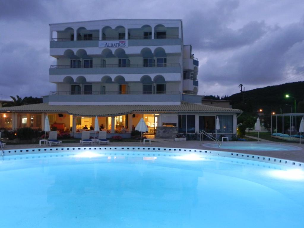 The swimming pool at or near Hotel Cooee Albatros