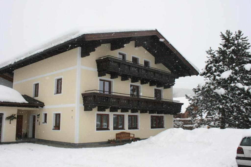 Haus Weitgasser during the winter