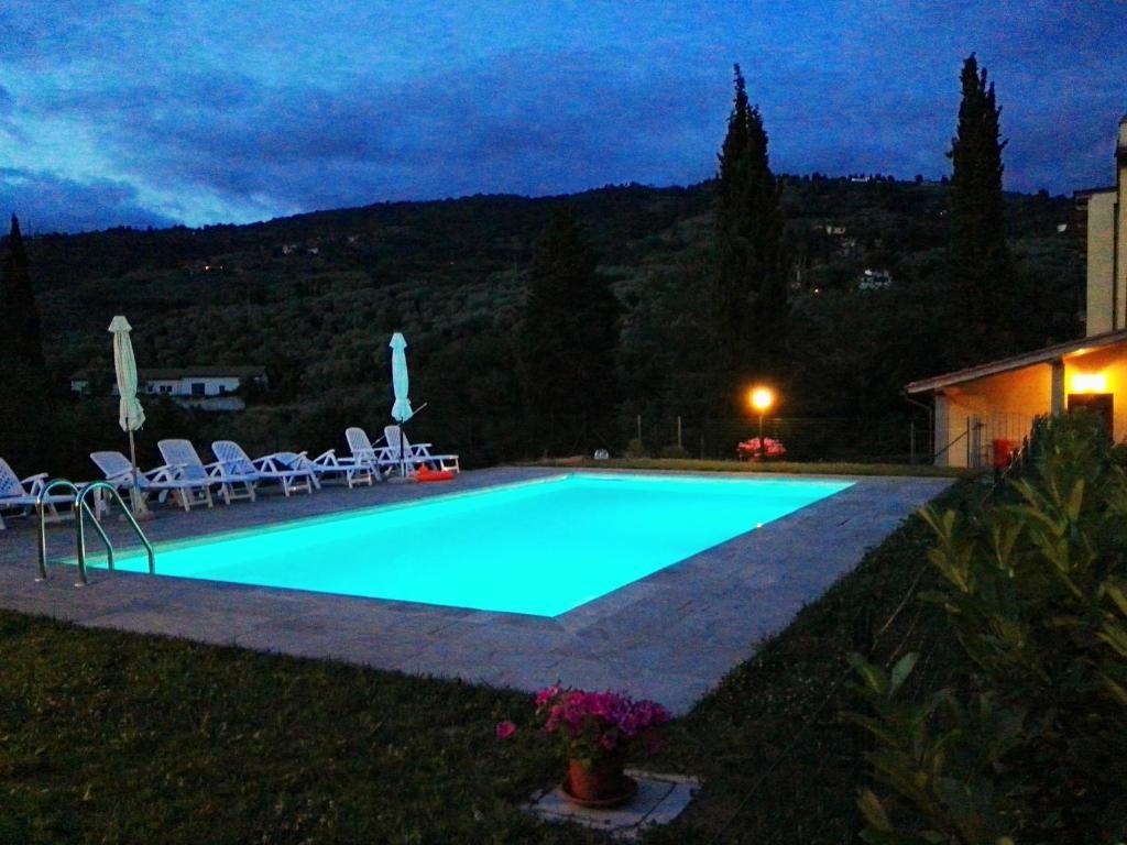 Facciata Casa Di Campagna vacation home casa melograno, reggello, italy - booking