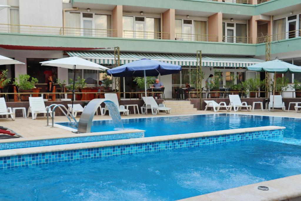 The swimming pool at or near Hotel Onyx