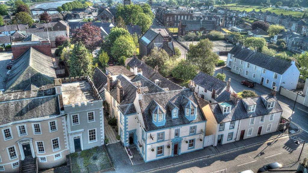 A bird's-eye view of Selkirk Arms Hotel