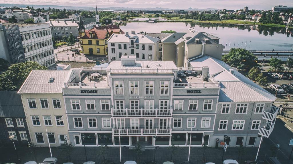 A bird's-eye view of Kvosin Downtown Hotel