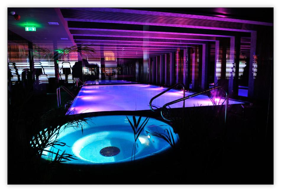 The swimming pool at or near Luxury Downtown Apartments