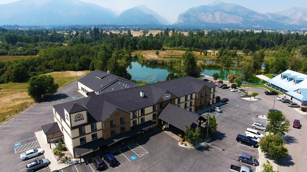A bird's-eye view of Bitterroot River Inn and Conference Center