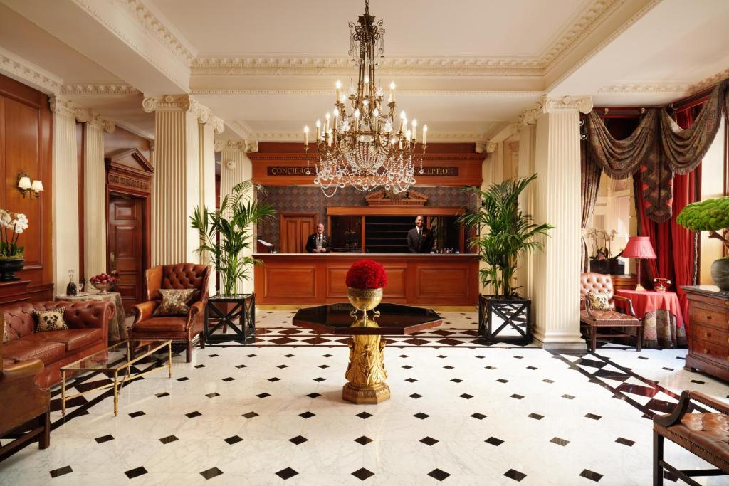 The lobby or reception area at The Chesterfield Mayfair