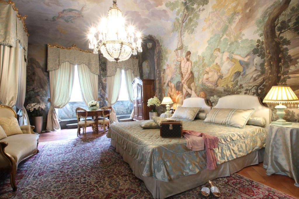 Een zitgedeelte bij Piazza Pitti Palace - Residenza d'Epoca
