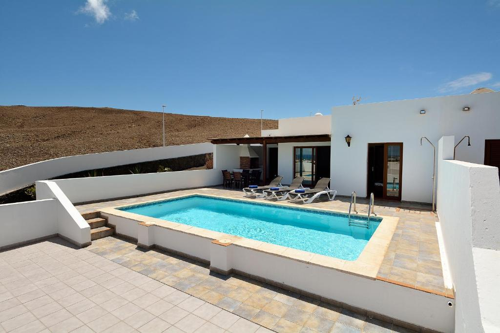 Villa Little Town Private Pool Playa Blanca Spain