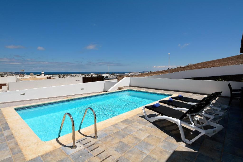 Villa Little Town Private Pool Playa Blanca Spain