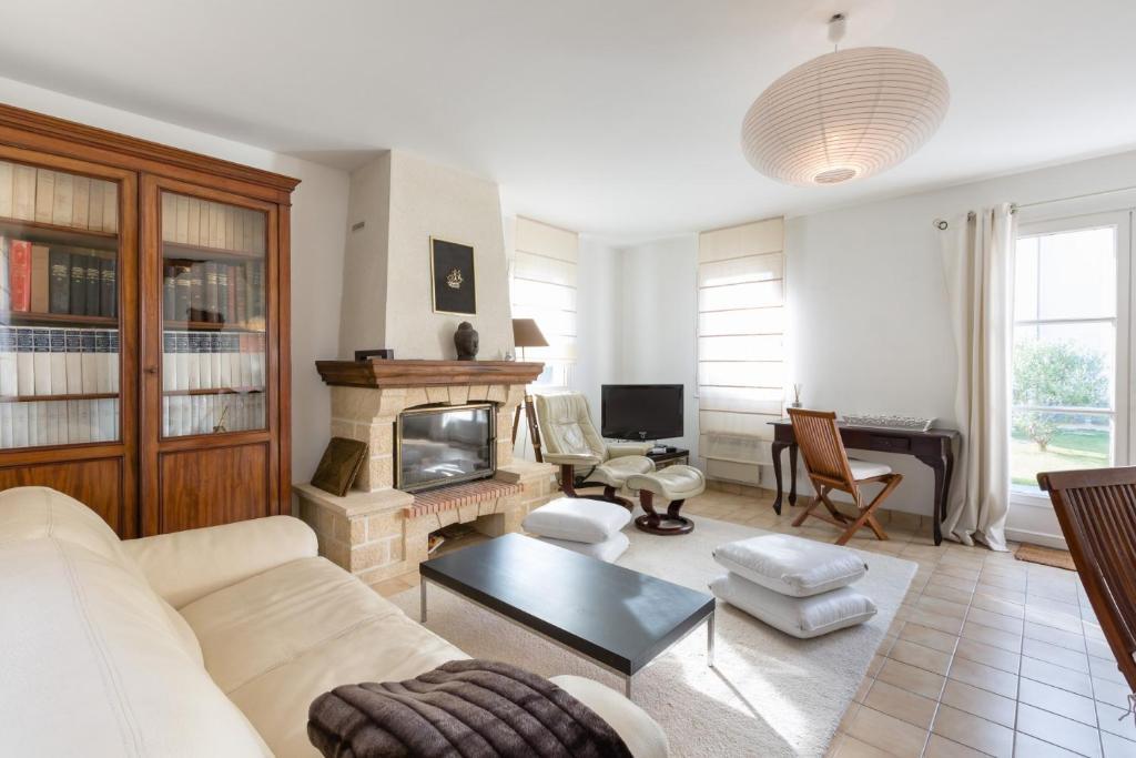 O zonă de relaxare la Saint Malo, La Crolante, Maison à 100m de la plage