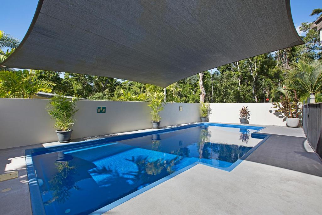 The swimming pool at or near Tropical private holiday house with pool