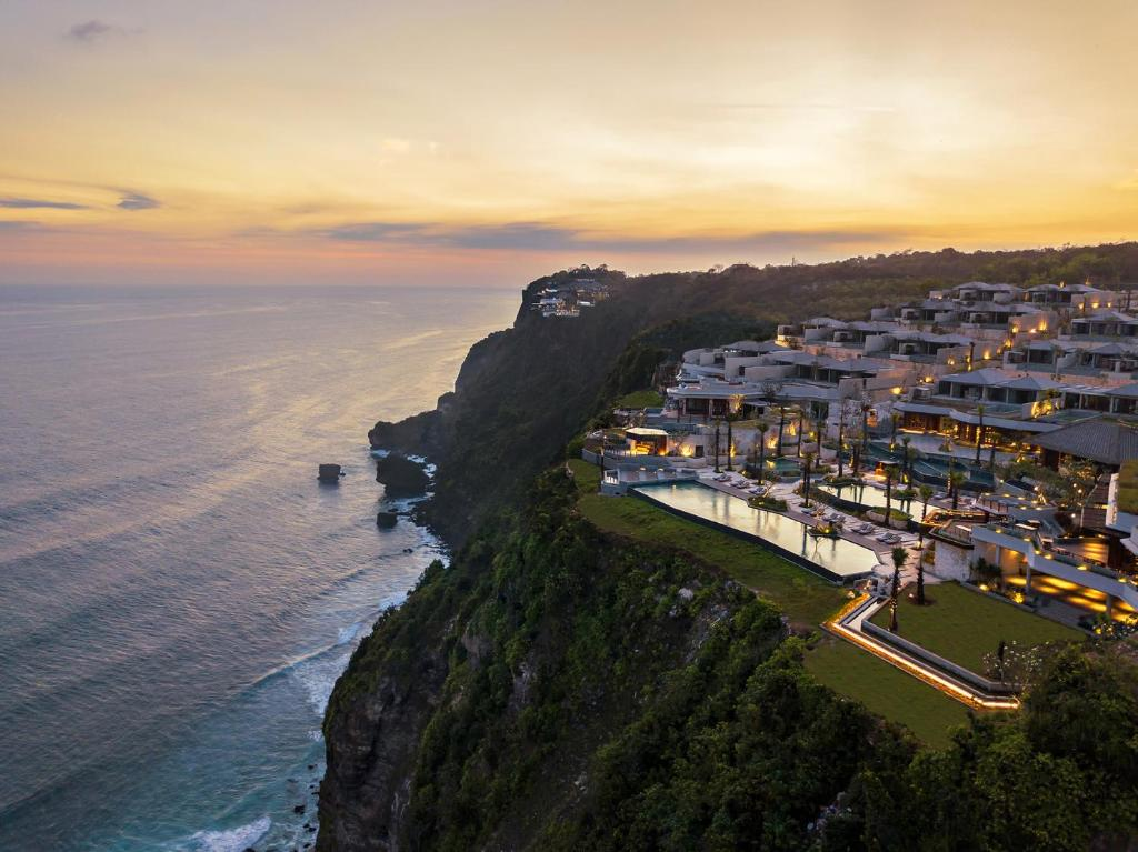 A bird's-eye view of Six Senses Uluwatu