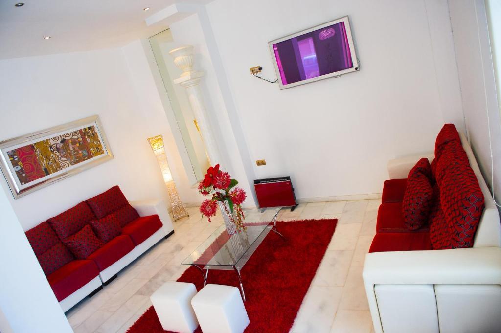 Zona de estar de Hotel Fernando IV