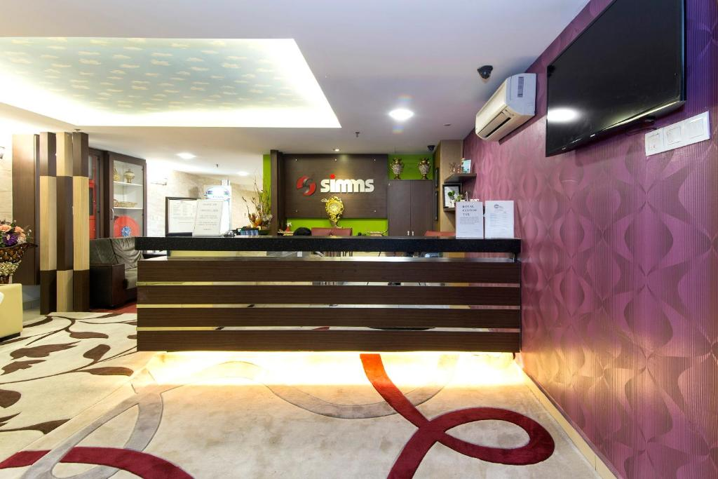 The lobby or reception area at Smart Boutique Hotel