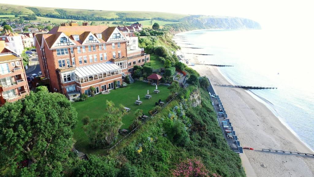 A bird's-eye view of Grand Hotel Swanage