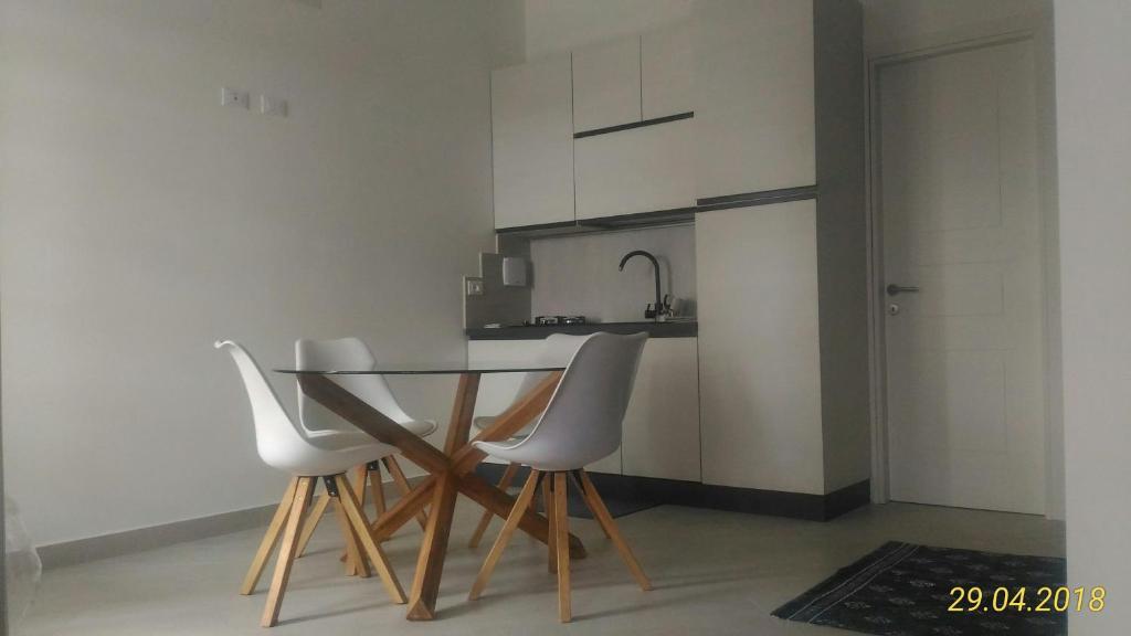 מטבח או מטבחון ב-Condominio Le palme