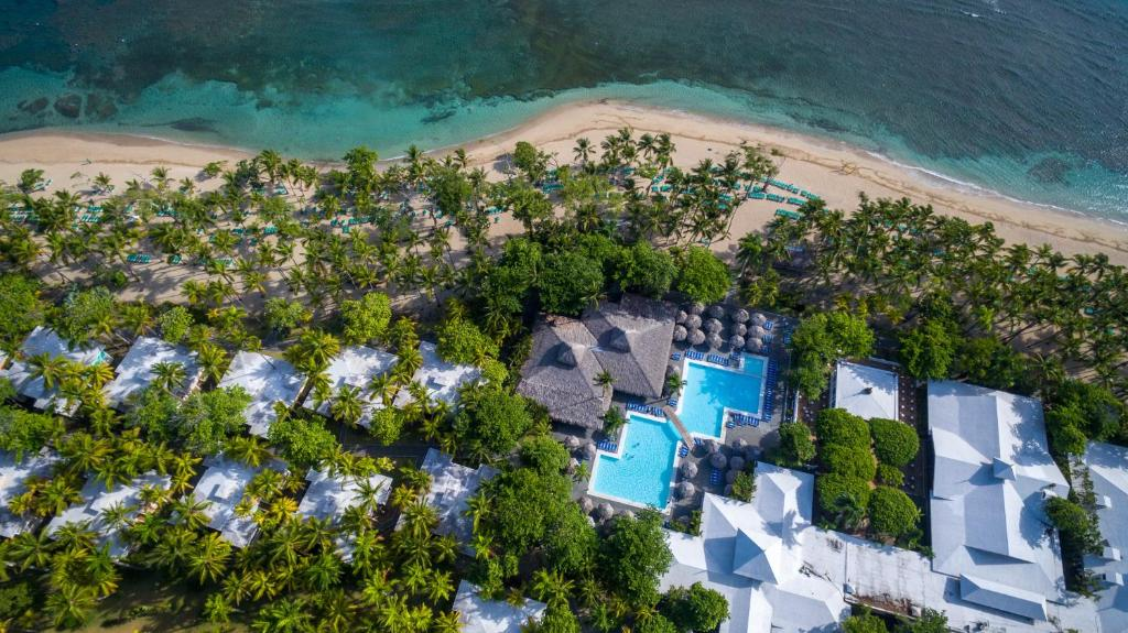 A bird's-eye view of Playabachata Resort