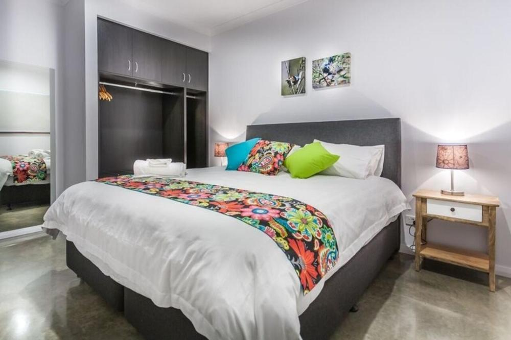 A bed or beds in a room at Turner Caravan Park