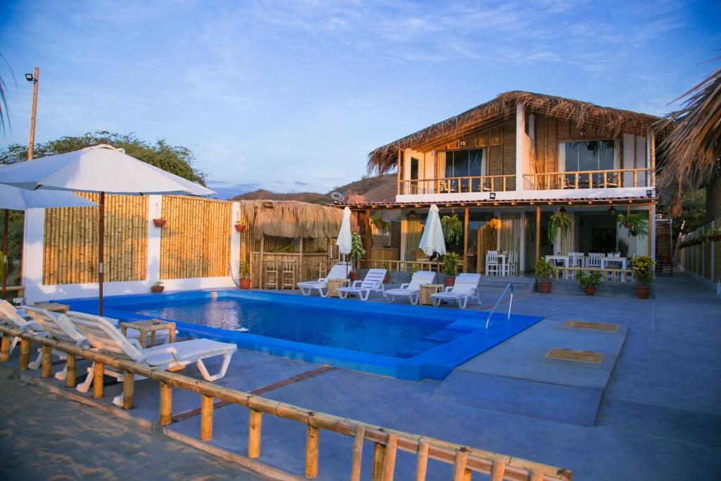Piscina en o cerca de Paraiso Punta Mero