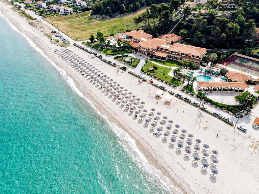 A bird's-eye view of Possidi Holidays Resort & Suite Hotel