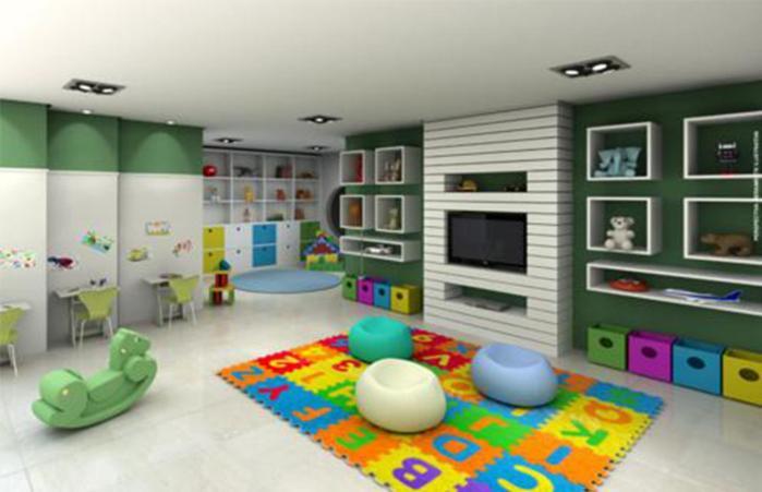 מועדון הילדים ב-Flat Green Ville Prime Select