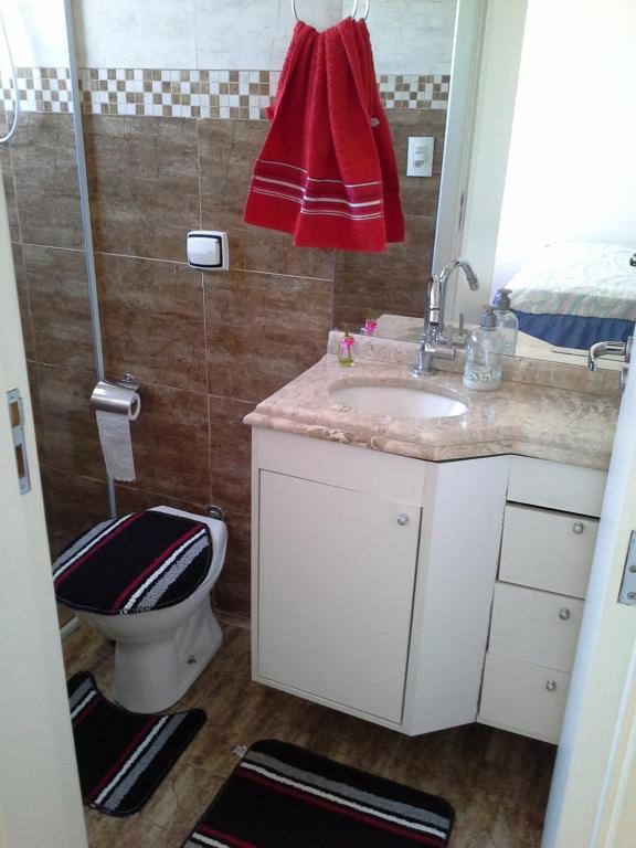 A bathroom at Sobrado na Cidade de Socorro
