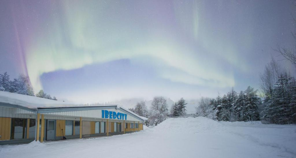 Hostel Ibedcity during the winter