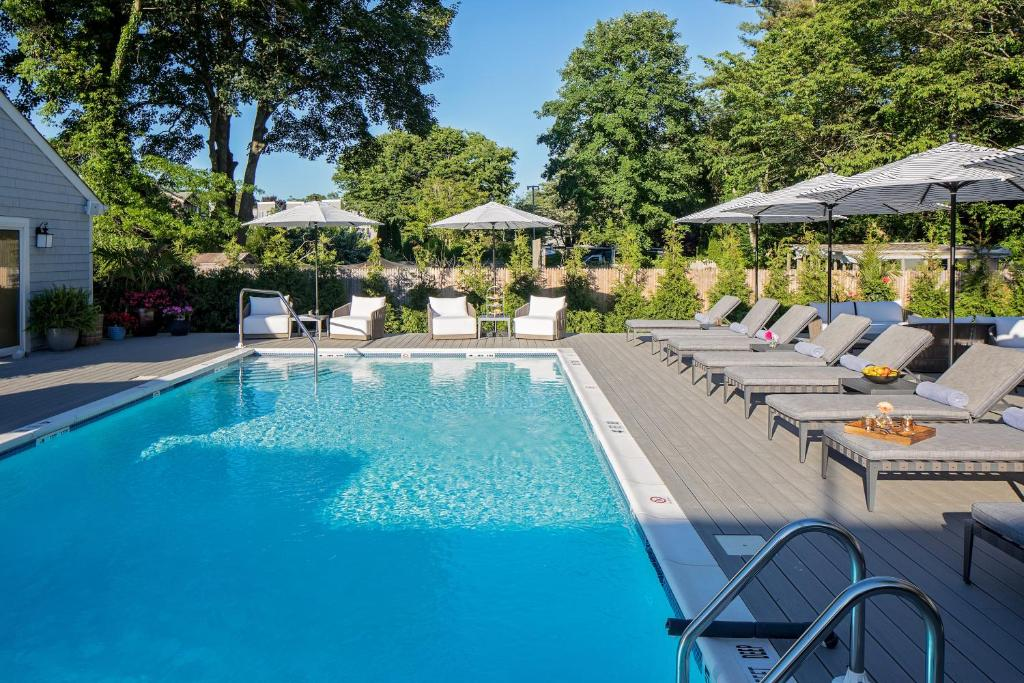 The swimming pool at or near Journey East Hampton