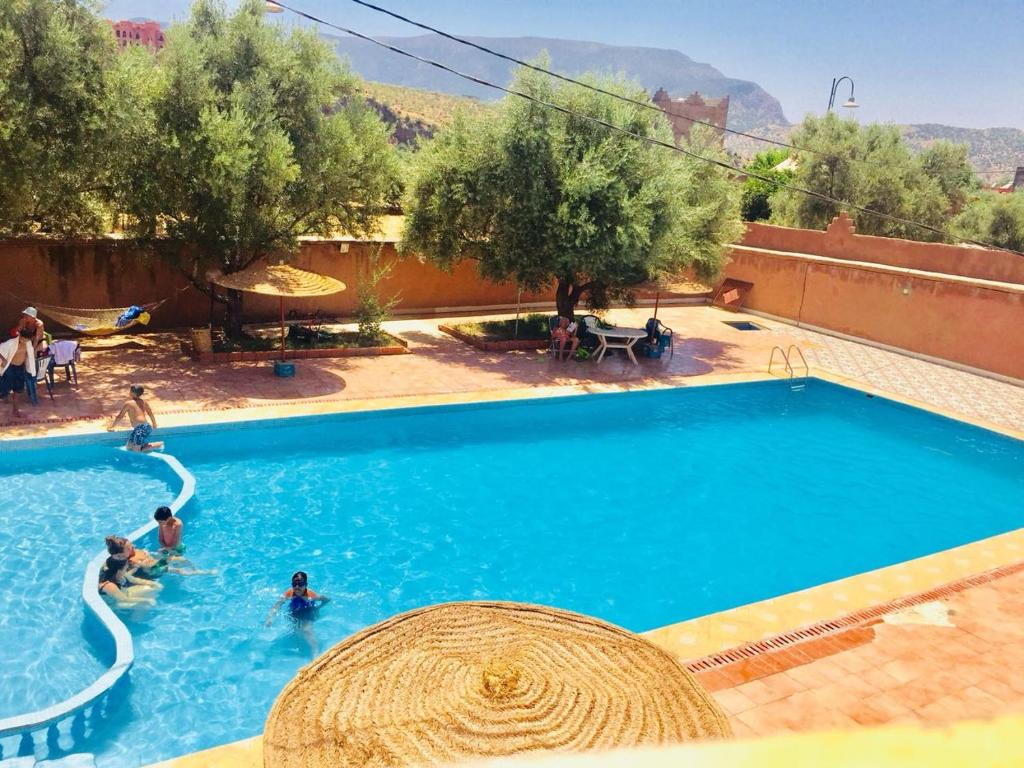 The swimming pool at or close to Hotel France Ouzoud
