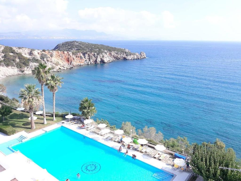 A view of the pool at Istron Bay Hotel or nearby