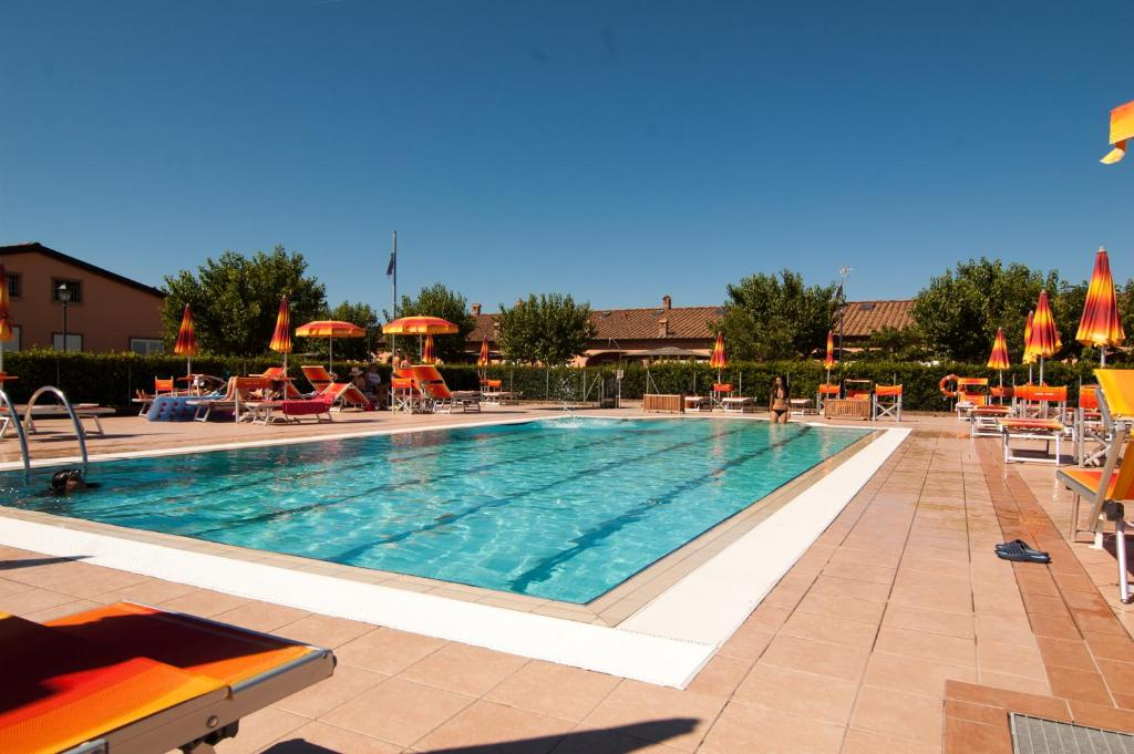 The swimming pool at or near Borgo Verde