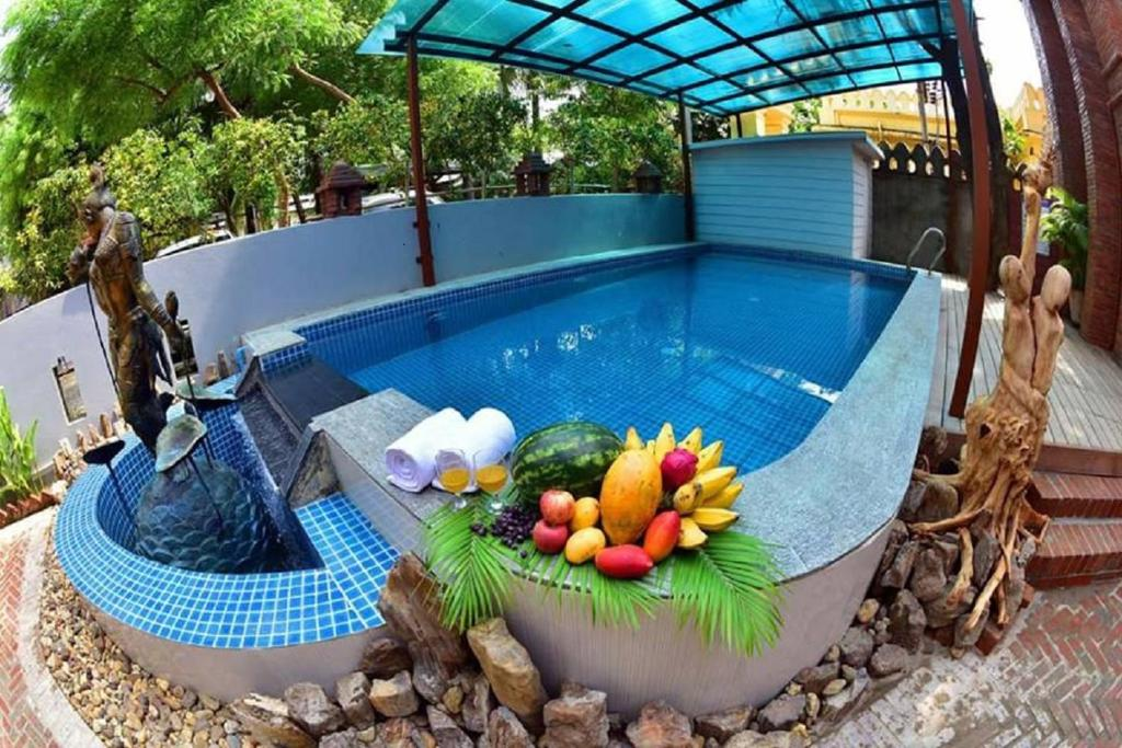 The swimming pool at or close to Northern Breeze Hotel