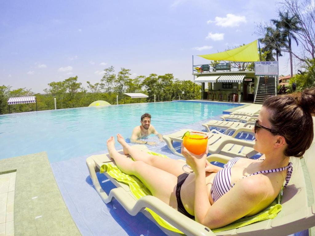 The swimming pool at or near Rumors Resort Hotel