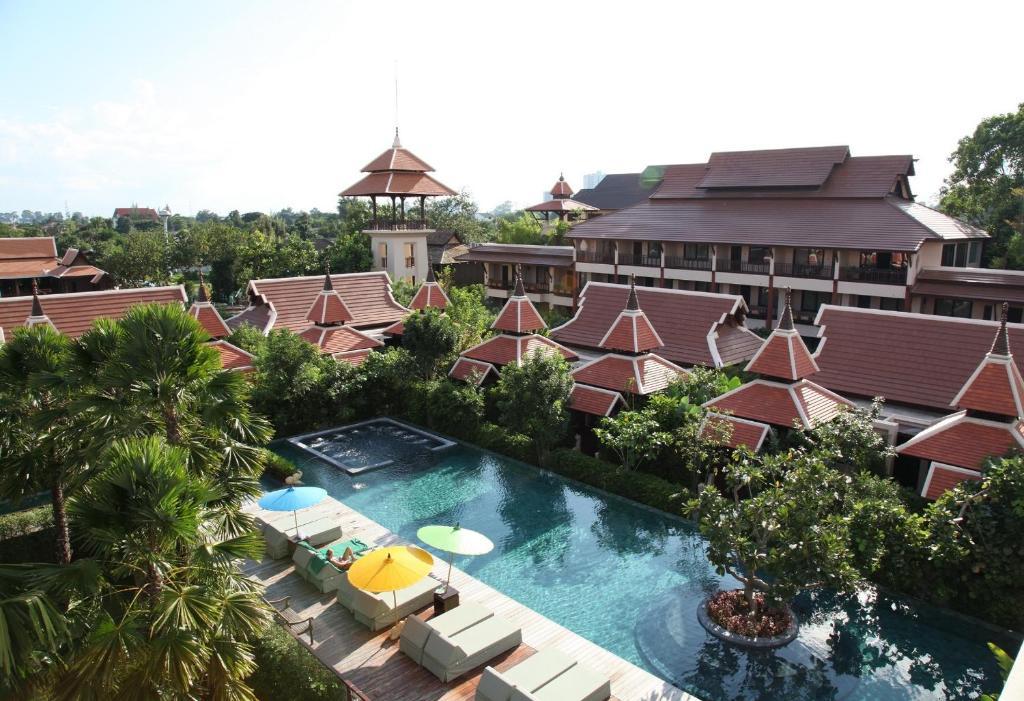 A view of the pool at Siripanna Villa Resort, Chiang Mai or nearby